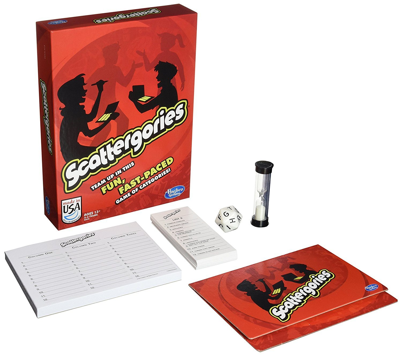 juego de mesa Scattergories